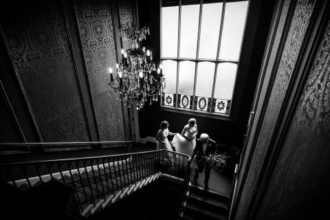 Paul Rogers, uit Hertfordshire, is een trouwfotograaf voor Nonsuch Mansion