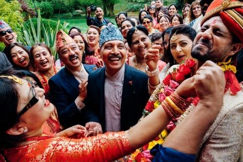 Marianne Chua aus London ist Hochzeitsfotografin für das Herrenhaus Bhaktivedanta