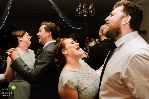 Andy Griffiths, of Lancashire, is a wedding photographer for Farington Lodge