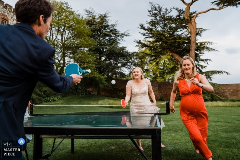 Family traditions and games...starts in the womb! - Wedding Photography at Farnham Castle, Farnham, Surrey, England