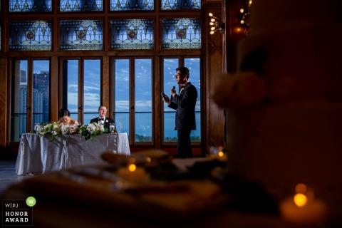 Chicago - Chicago Athletic Association fotos del lugar de la boda | el discurso del mejor hombre