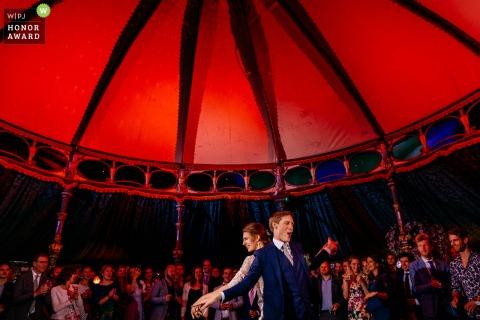 Vondelkerk Amsterdam photography   first dance of the wedding couple