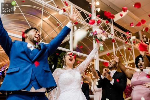 Rio das Ostras wedding celebration photo of Love