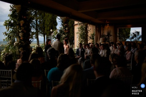 Antica Fattoria di Paterno Photography of one moment during the ceremony