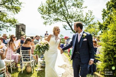 Luigi Rota, of Lecco, is a wedding photographer for Castello di Vezio Lago di Como