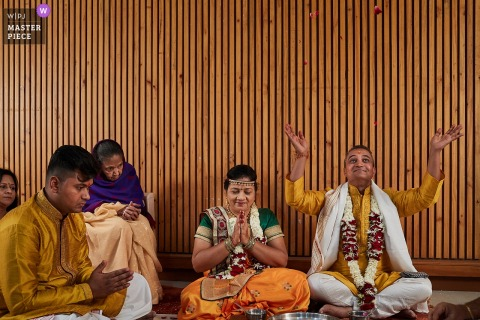 Nadiad India - Wedding Photography of Indian ceremony moment