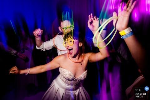 Moon Palace Cancun Huwelijksreceptie Foto's van danstijd!