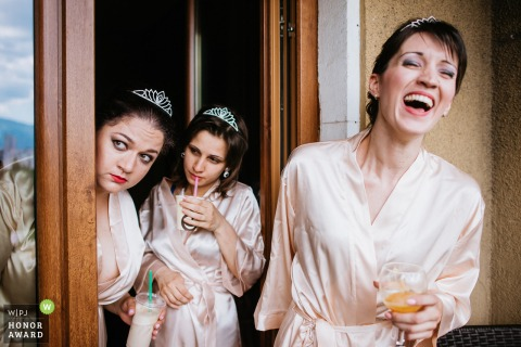 Sofia Moods of the Bridesmaids at the Wedding - Photography
