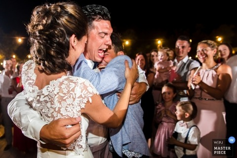 Fotos de la fiesta de Masseria Don Luigi de la recepción nupcial