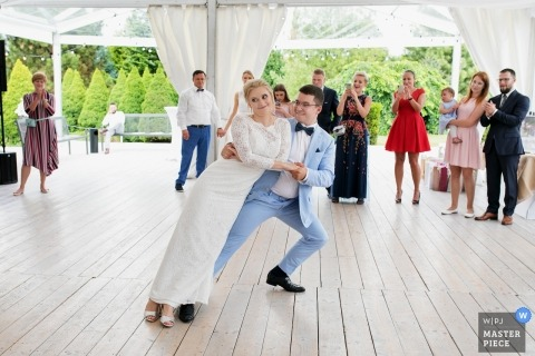 Cracow Wedding Photos - First dance
