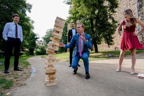 Tobias Löhr aus Hessen ist Hochzeitsfotograf für Schloss Romrod