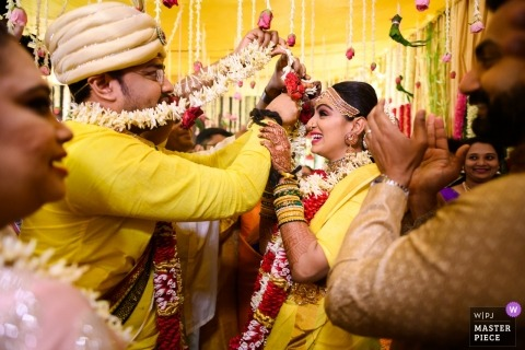 Photos de mariage traditionnel à Hyderabad, en Inde - Enchevêtrés, pour la vie!