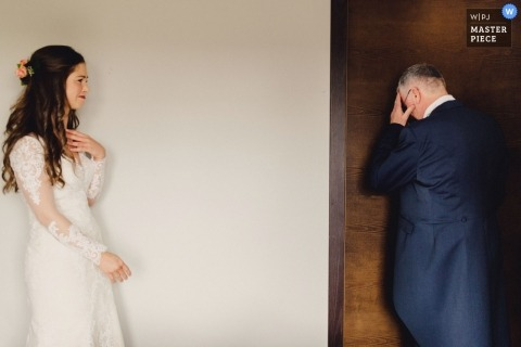 Ashley Davenport, of London, is a wedding photographer for