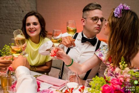 Leuven Toast Photo | Wedding Reception Pictures