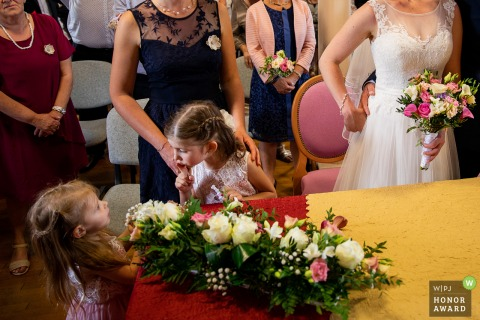 Grand Est Wedding Ceremony Picture | Kids at weddings - Silent