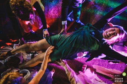 Fotos del lugar de la boda en Ponte de Lima | Fotos de fiesta desde la loca pista de baile