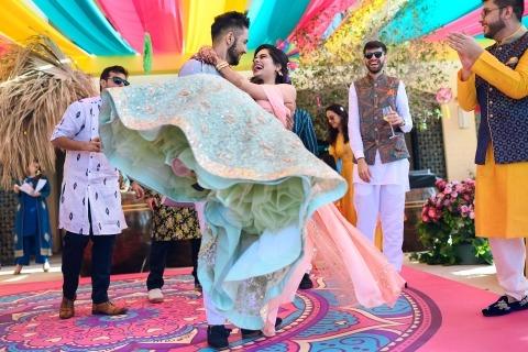 Ankita Asthana, de Maharashtra, es fotógrafa de bodas para