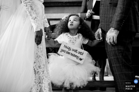 Engeland Trouwreportage Fulham Palace - Fotografie Tijdens de huwelijksceremonie