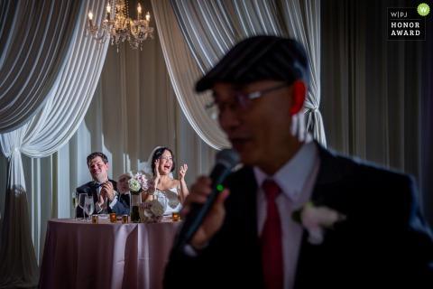 Londonhouse, fotografía del lugar de la boda en Chicago del discurso de recepción