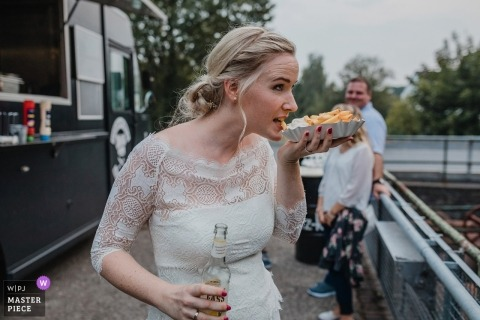 "Wedding Photographer for Kokerei Hansa Dortmund | ""fries before guys?!"""