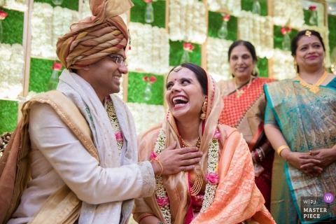 Maharashtra Mumbai wedding photography | you make my heart smile
