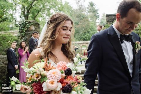 Médias, PA cérémonie de mariage en plein air photo de la mariée Letting It Out
