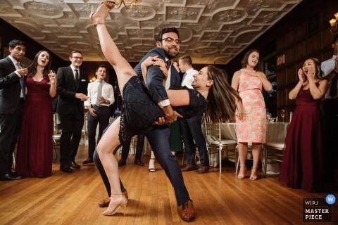 Media, PA Photographie de réceptions de mariage - Just Dance