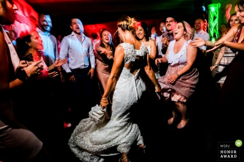 la giraude receptions toulouse mariage wedding photo - dance floor at the wedding