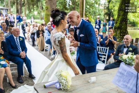 Luigi Rota, van Lecco, is een huwelijksfotograaf voor -