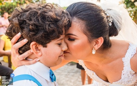 Brazilië Ceremony Photography of the Outdoor Wedding - Emotion to the rings