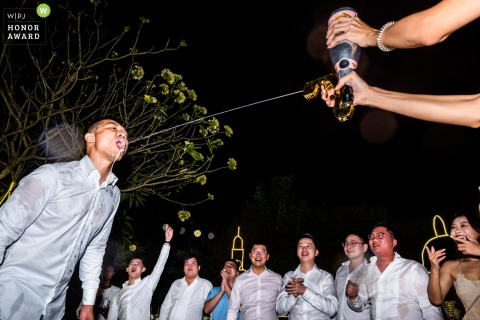 Guangdong Hotel Wedding Photography of the After party