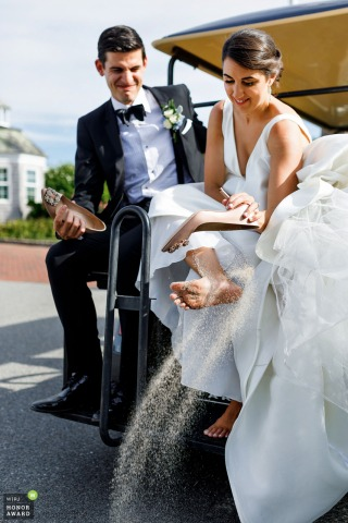 Alex Paul, of Massachusetts, is a wedding photographer for -