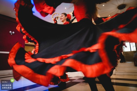 Troyan Plaza wedding venue pictures | Dancers performed gypsy dancing during the reception
