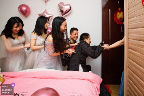 Fujian home actual wedding day photography - reception game