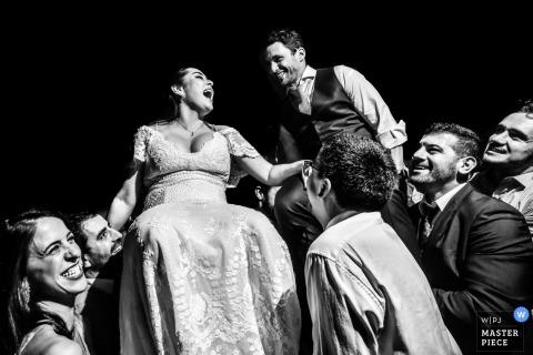 Celeiro Quintal - fotograf ślubny z São Paulo - para na przyjęciu weselnym