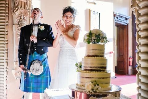 莱斯特郡的Ian Bursill是一位婚礼摄影师