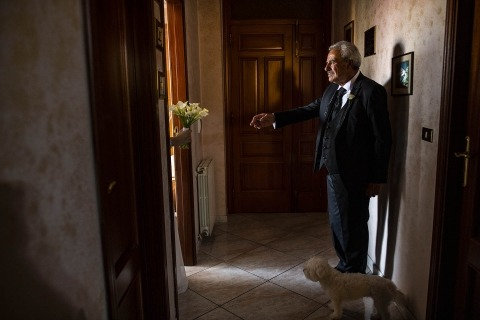 Pasquale Minniti, of Reggio Calabria, is a wedding photographer for