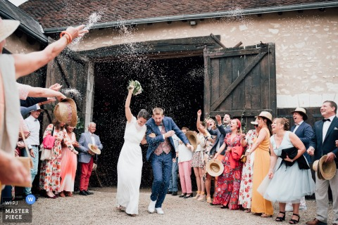 Maxime Desessard, of , is a wedding photographer for