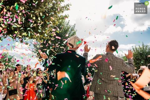 Damien Dohmen, of , is a wedding photographer for -