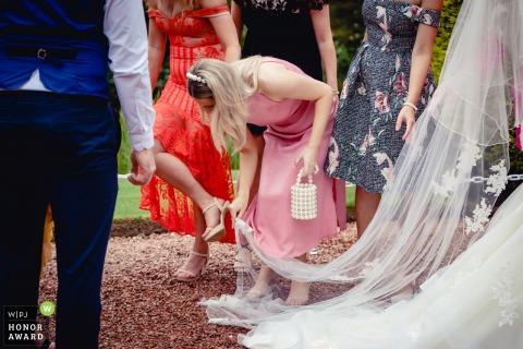 Mike Cook, de Stirlingshire, est photographe de mariage pour -