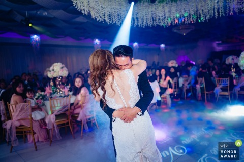 Orange County California Wedding Reception Venue Photo of the First Dance