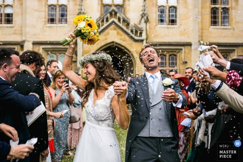 Sidney Sussex College, Cambridge, United Kingdom - Crazy Confetti at Sidney Sidney Sussex Chapel