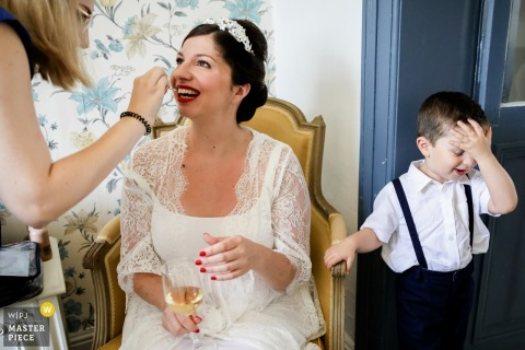 Home of the Paris bride - Wedding Photos - No way for this ring bearer