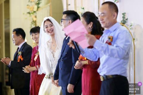 Guangdong China Fotografie aus der Zeremonie der Hochzeit