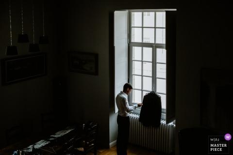 Karol Robache, of , is a wedding photographer for