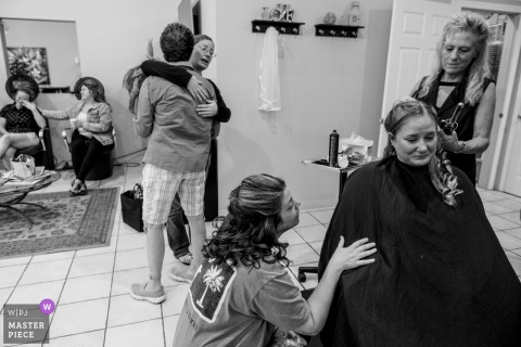 The Chalet- Newburgh NY wedding photography - Layers of Emotion while getting ready