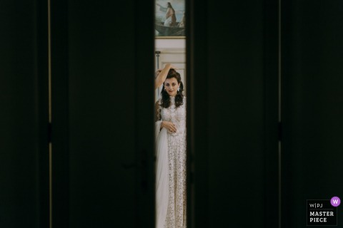 Bride Photography, Villa Corbinaia, Tuscany | With the blessing of God.