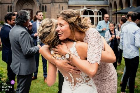 Bovendonk, Hoeven au lieu de la photographie de mariage | Félicitations à la mariée, de son meilleur ami.