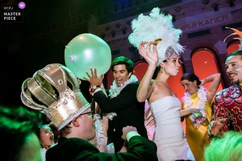 Amsterdam - Beurs van Berlage Bruiloftfeestfotografie - Hora Loca