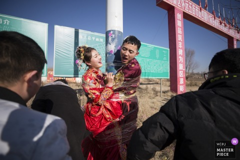 Shaanxi wedding photography | Bind the bride and groom